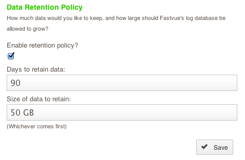 Data Retention Policy