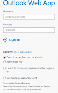 Mobile Friendly TMG Forms Based Authentication Template for Exchange 2013 OWA