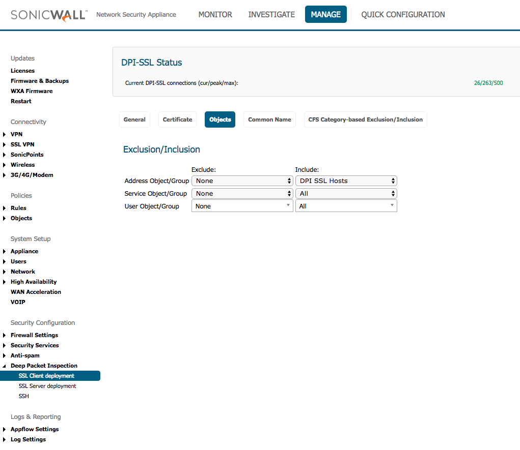 The Best Sonicwall Configuration For Detailed Logging And Reporting