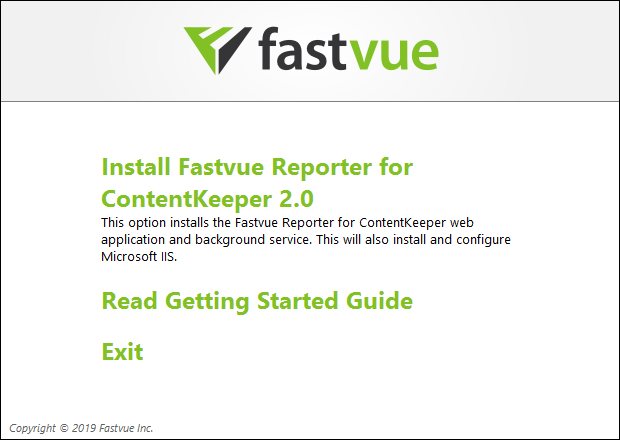 Fastvue Reporter for ContentKeeper
