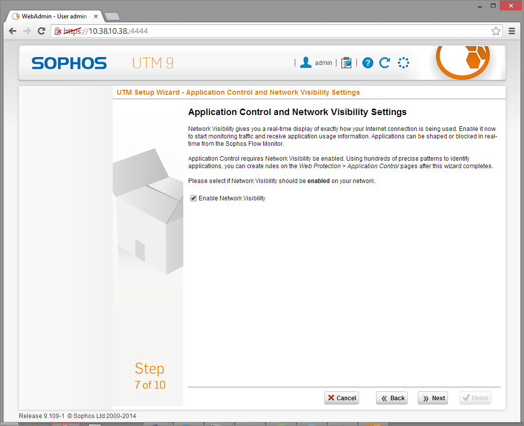Sophos UTM Deployment - Initial Configuration Wizard 11