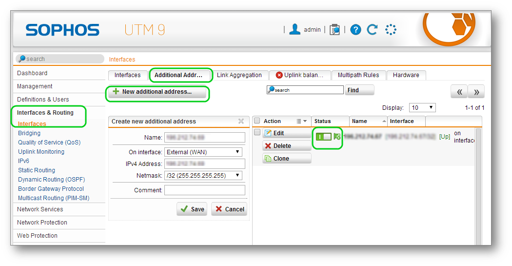 How To Publish Websites with Sophos UTM Web Server Protection