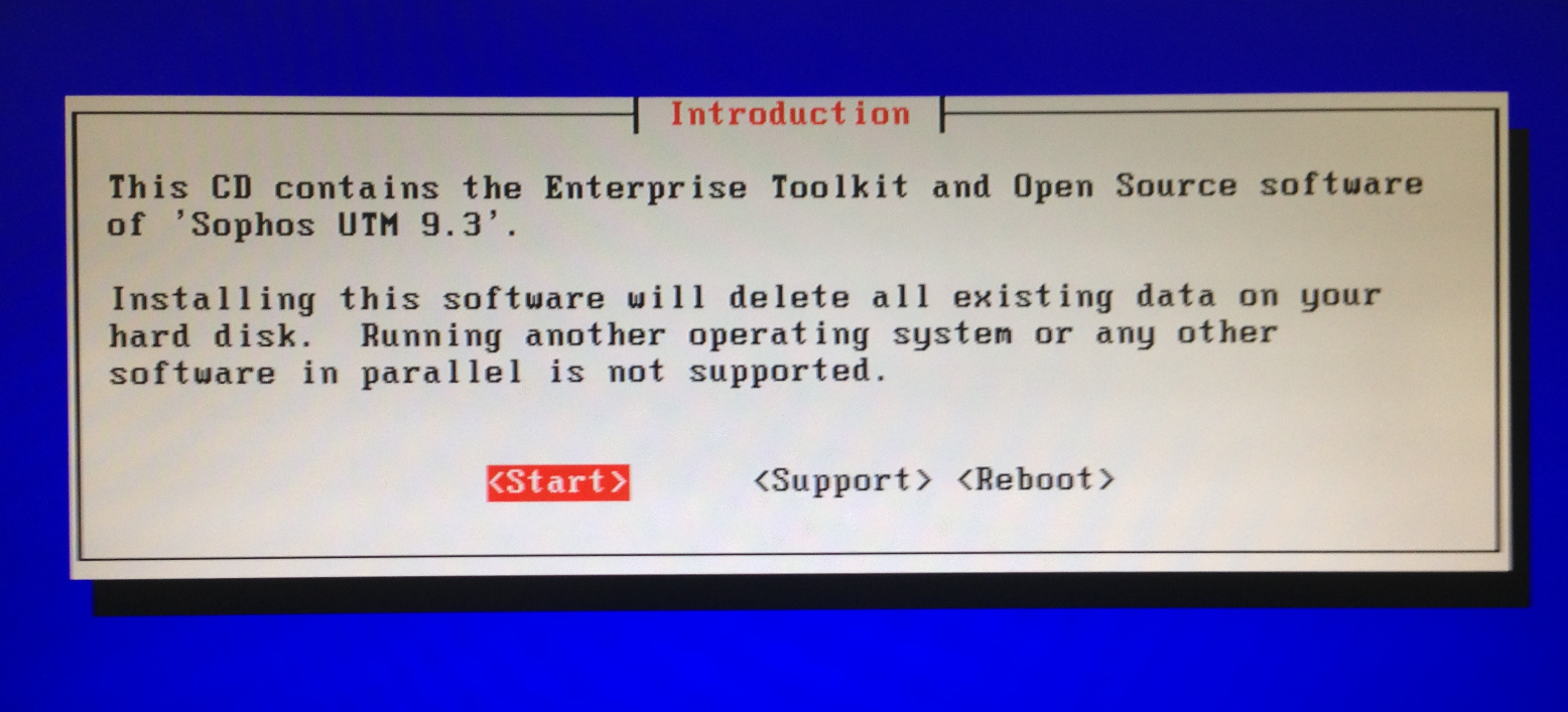 Creating Your Own Sophos UTM Bootable USB Installation Drive