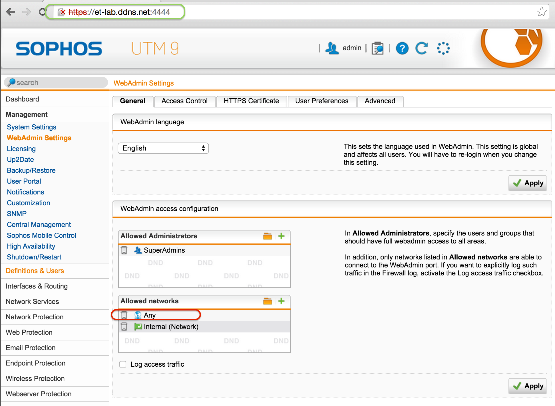 How to Configure Dynamic DNS on Sophos UTM