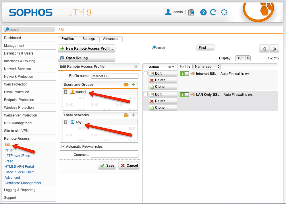 Setup a Sophos UTM SSL VPN In 7 Simple Steps!