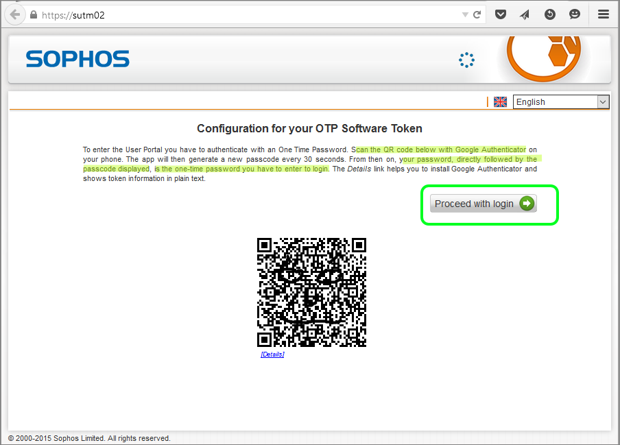 Two Factor Authentication with Sophos UTM - For Users