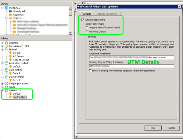 Deploying Endpoint Protection with Sophos UTM and Enterprise Console