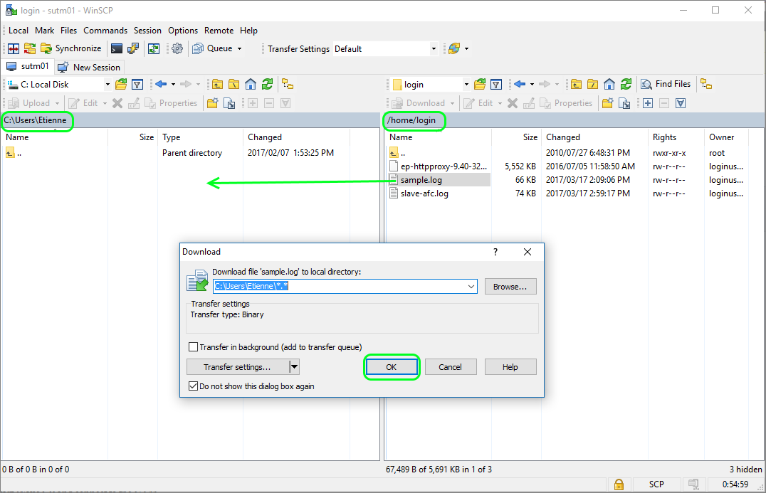 How To Retrieve Log Files From a Sophos UTM Cluster Slave