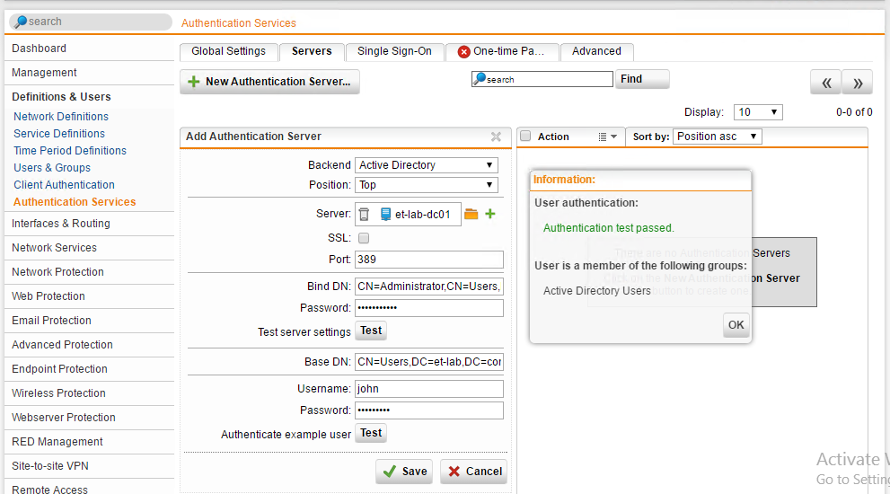 How To Configure Sophos STAS Authentication, Step-By-Step