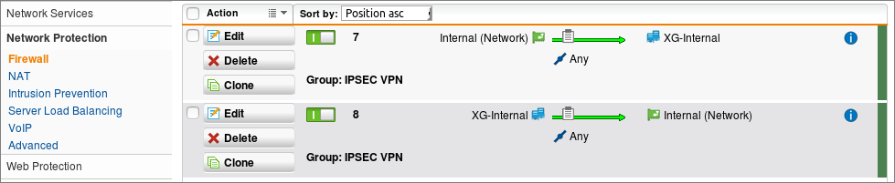 Configuring a Site-to-Site VPN Between Sophos UTM (SG) and