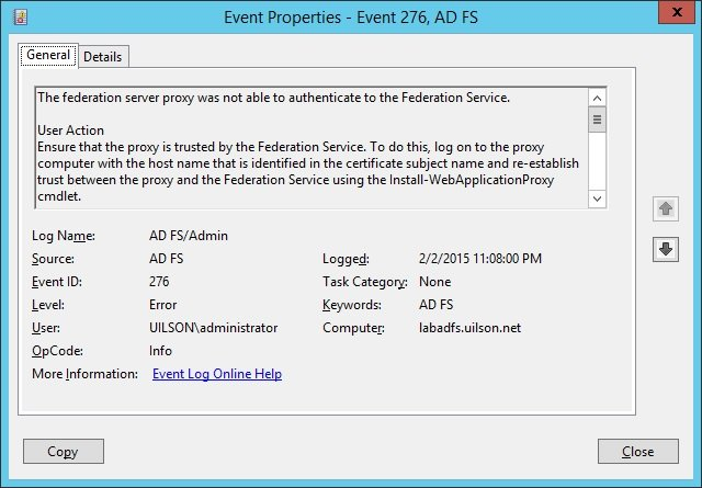 How to Fix Web Application Proxy and AD FS Certificate