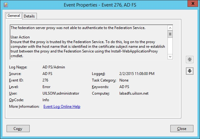 How to Fix Web Application Proxy and AD FS Certificate Issues (Error